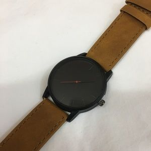 Black and Tan mens watch